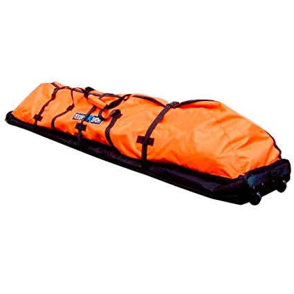 387bdee214 Tekknosport JetBag 430 Wave wheels 230x40cm Orange: Amazon.it: Sport e  tempo libero