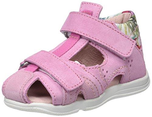 Däumling Baby Mädchen Uschi Sandalen Pink (Turino Begonia)
