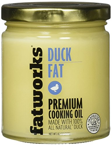 Fatworks, Premium USDA Cage Free Duck Fat, Ultimate Cooking Oil for Gourmet Frying and Baking, 7.5 - Rougie Duck Fat
