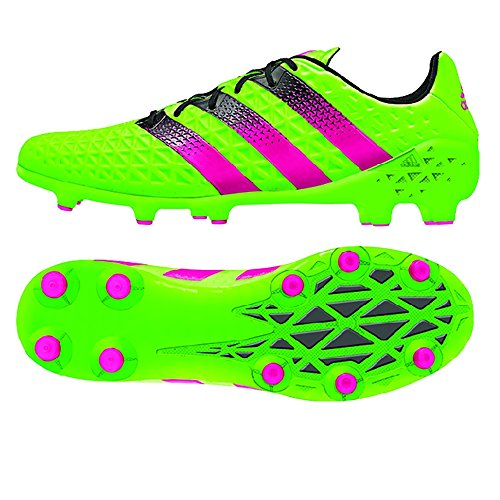 outlet footaction cheap really adidas Men's Ace 16.1 Fg/Ag Solar Green/shock Pink/black cheap original brand new unisex cheap price discount big sale 8mpNP