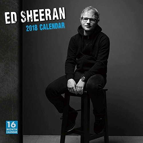 2018 Ed Sheeran Wall Calendar