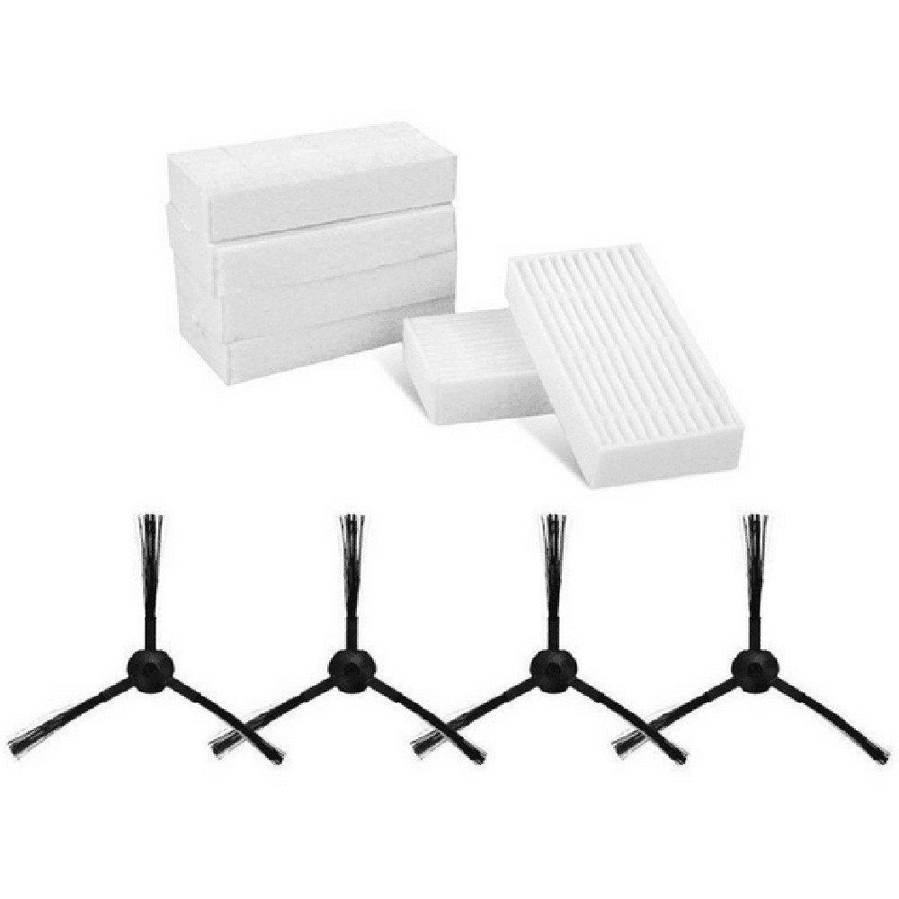 Accessories para robot aspirador iLife V5 V5S Pro X5 - 4 cepillos + ...