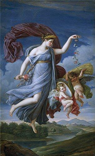 Famous Costume Theatre Designer (Oil Painting 'Ribera Y Fernandez Juan Antonio Alegoria Del Verano 1819 ' Printing On Perfect Effect Canvas , 30 X 49 Inch / 76 X 125 Cm ,the Best Game)