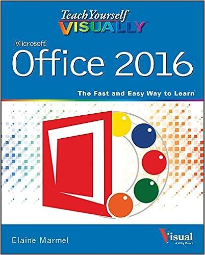 Amazon com: Teach Yourself VISUALLY Office 2016 (Teach