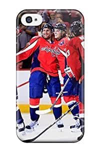 New Fashion Case New Style LeeJUngHyun case cover For Iphone 4/4s- Washington Capitals Hockey Nhl jzghMQq88dY by mcsharks