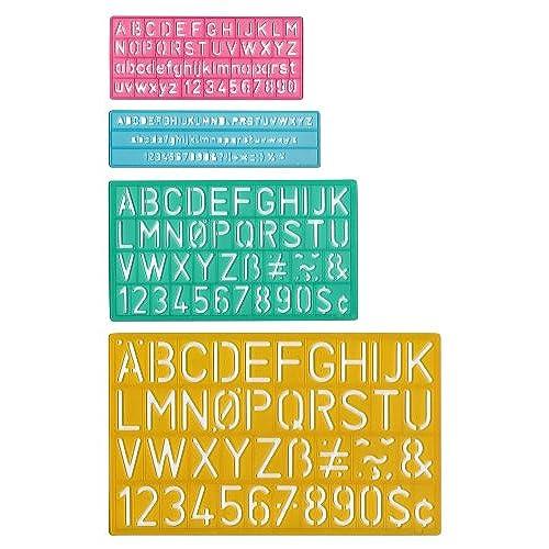 letter stencil templates amazoncom