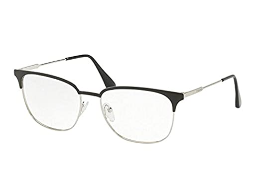 505b25e7697 Prada Men s PR 59UV Eyeglasses 53mm at Amazon Men s Clothing store