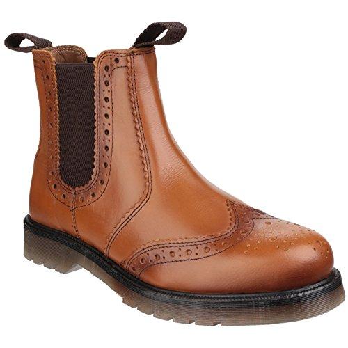 indossa Tan stivali gli Botines Ambbies brogue Dalby Shoes Exterior gBpqPwP