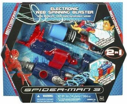 Hasbro Spider-Man 3 Deluxe Spinning Web Blaster