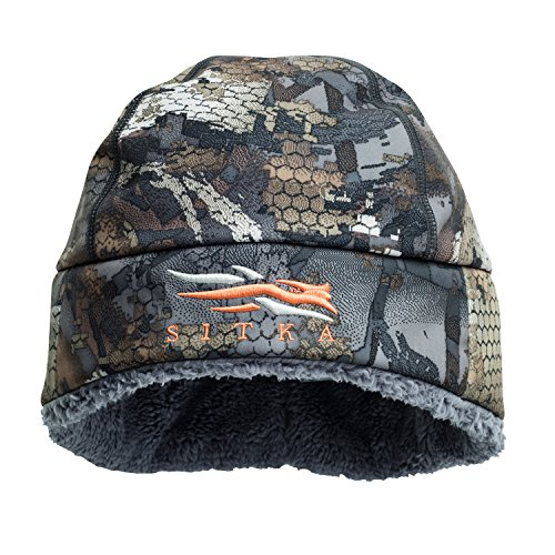 SITKA Gear Boreal Windstopper Beanie Optifade Timber One Size Fits ()
