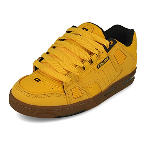 Tobacco de Chaussures Homme Globe 19984 Skateboard Sabre Marron Wheat qwnC0