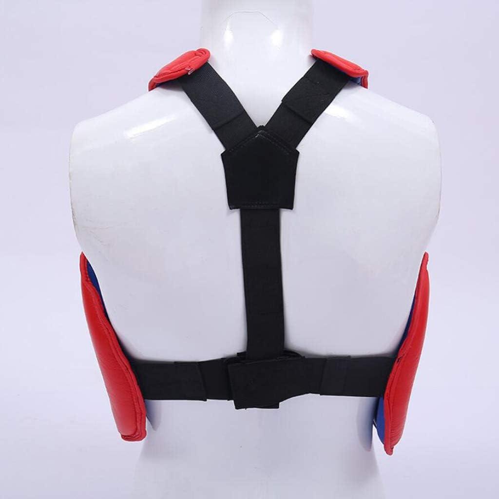 Toygogo Protector De Pecho De Boxeo Muay Thai De Artes Marciales Protector De Pecho De MMA Sanda Gimnasio Y Entrenamiento M/últiples C