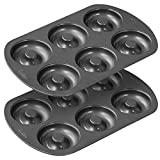 Wilton 2105-1620 6 Cavity Nonstick Donut Pans (2 Pack)