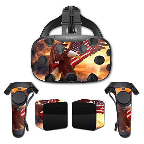 Price comparison product image MightySkins Protective Vinyl Skin Decal for HTC Vive wrap cover sticker skins Bald Eagle