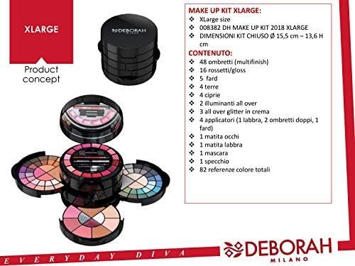 Deborah Milano - Color Parade Xlarge Kit De Maquillaje: Amazon.es: Belleza