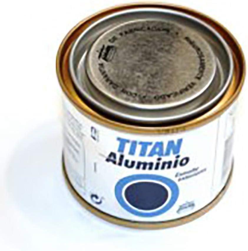 Titan M30713 - Esmalte aluminio exteriores 50 ml