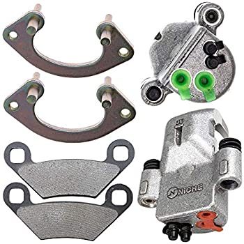 Front Brake Calipers /& Pads For Polaris Sportsman 550 XP EPS X2 Forest 2010-2014