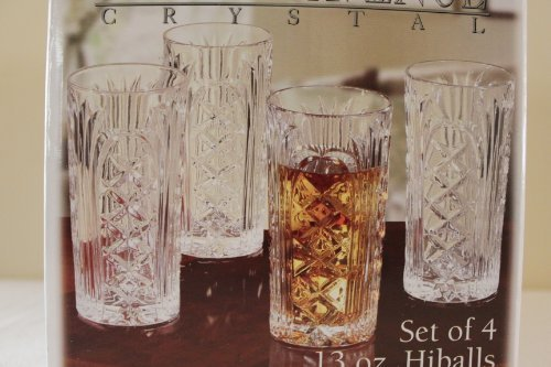 Jay Imports Set of 4 Wellington Highball Glasses