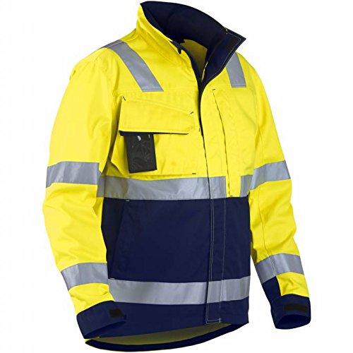 Blakläder 406418113389x S High Schrauben Jacke Klasse 3Größe XS Gelb/Marineblau Blau
