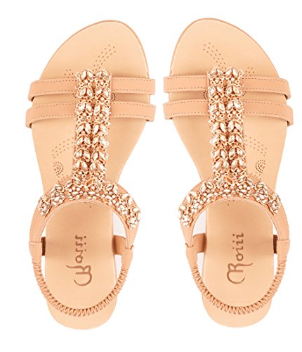 0bc922080592 Roiii Womens Ladies Diamante Jelly Sandals Summer Beach FLIP Flops Toe Post  Shoes Size - Buy Online in Oman.