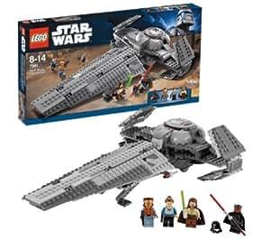 LEGO Star Wars - Darth Maul's Sith Infiltrator - 7961 + Star Wars - Mandalorian Battle Pack - 7914