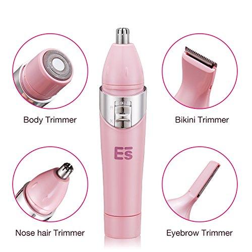 4 in 1 electric women shaver bikini groomer bikini trimmer nose hair trimmer eyebrow trimmer. Black Bedroom Furniture Sets. Home Design Ideas