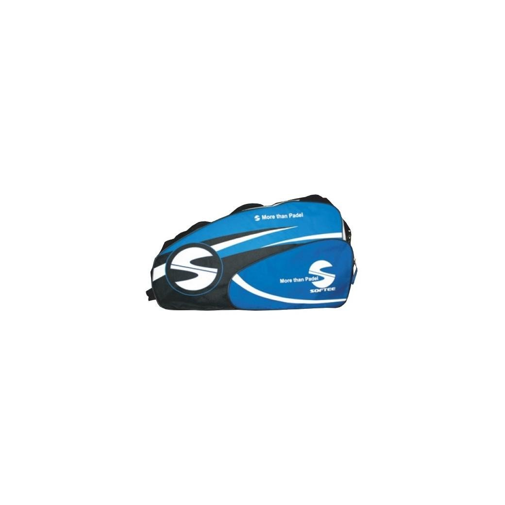 Softee 0014011 Paletero de pádel, Unisex Adulto, Azul/Negro/Blanco ...