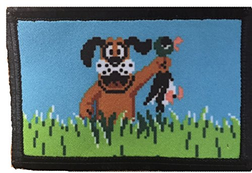 "Duck Hunt Morale Patch. Perfect for your Tactical Military Army Gear, Backpack, Operator Baseball Cap, Plate Carrier or Vest. 2x3"" Patch. Made in the USA"