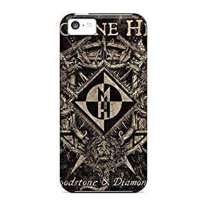 MarkMacarthur Apple Iphone 5c Shockproof Hard Cell-phone Cases Custom Beautiful Machine Head Band Skin [KDP1643ELCN]
