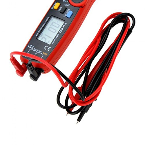 Mini Clamp Meters : Uni t b q ut e true rms ac dc current mini clamp m w