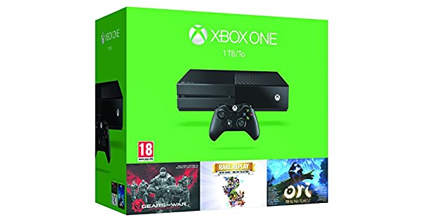 Xbox One - Pack Consola 1 TB Holiday Bundle: Amazon.es: Videojuegos
