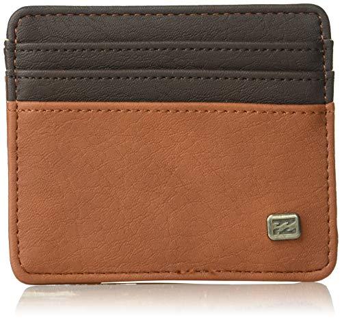 Billabong Men's Dimension Card Holder Wallet Earth One Size (Billabong Card Wallet)
