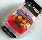 "The Simpsons LCD Talking WATCH ""Family Drive"" - 2002 Burger King Promotion"