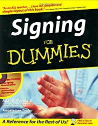 Image of the product Signing For Dummies that is listed on the catalogue brand of Brand: For Dummies.