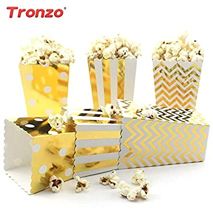 85th Birthday Casamento Nupcial Trozno Popcorn Box Baby Shower Supplies Party Decorations Kids Favors 12pcs