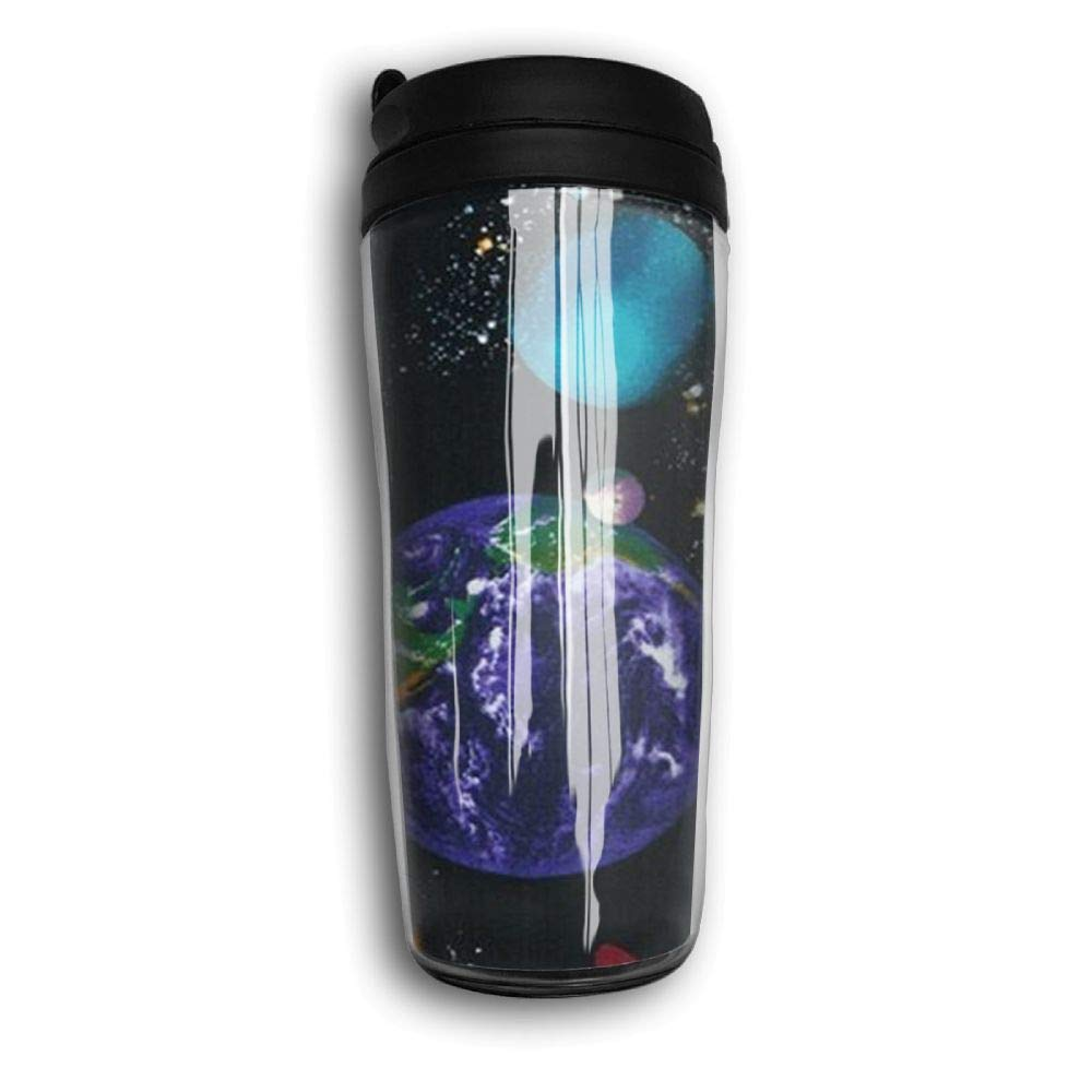 UAJAR Out Space Universe Solar Curve Coffee Cup Travel Mug Portable Water Bottle