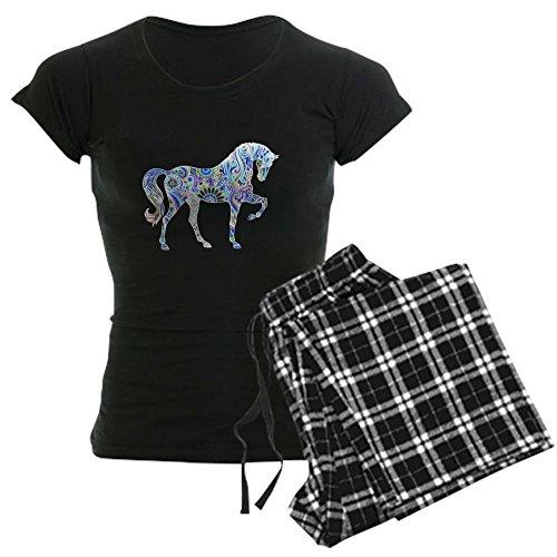 CafePress - Cool Colorful Horse - Womens Novelty Cotton Pajama Set, Comfortable PJ Sleepwear