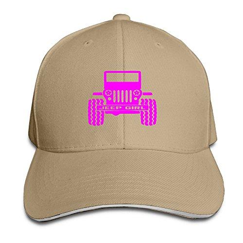 [LaLago Jeep Fancy UV Protect Sandwich Cap Natural] (Milkman Fancy Dress Costume)