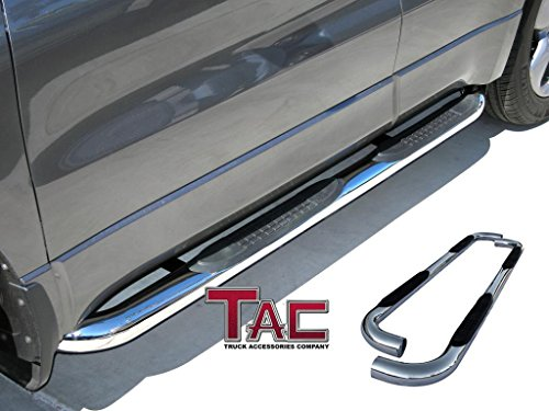 TAC 2007-2017 TOYOTA TUNDRA DOUBLE CAB ALL Stainless Steel SIDE BAR Step Nerf Bars Running Boards