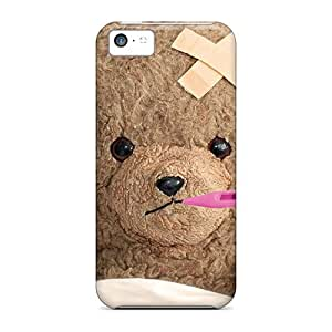 High Grade LastMemory Flexible Tpu Case For Iphone 5c - Teddy Is Sick
