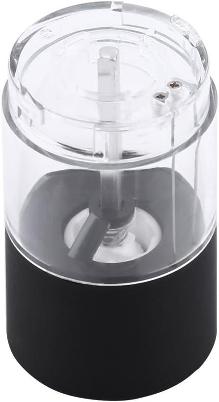 Molinillo de Hierba de Pimienta el/éctrica Negra de Moda Nuevo Herramienta de Cocina Muller Molinillo de Especias y Sal Molinillo de Pimienta