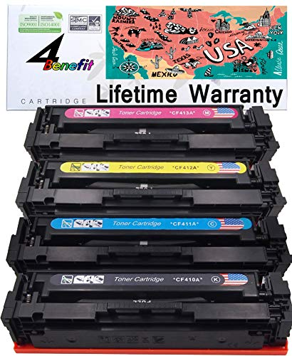 (4Benefit Compatible Toner Cartridge Replacement for HP CF410A / CF410X)