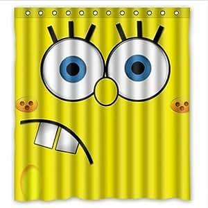 "Spongebob Shower Curtain Fit 60""*72"""