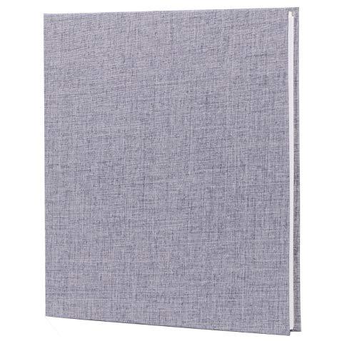 GOTIDEAL Self Adhesive Scrapbook,11 x 9.5 inches 40 Pages Photo Album Magnetic Scrapbook Album,Photo Book, Wedding Guest Book, DIY Anniversary Memory Book