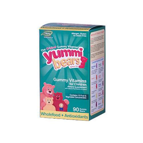 Hero Nutritional Products Yummy Bear Whl Food Suppl 90 Bears by Hero Nutritionals