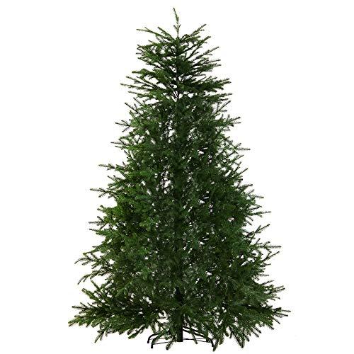 HOMCOM 7' PVC Artificial Pine Christmas Tree 576 Branch -