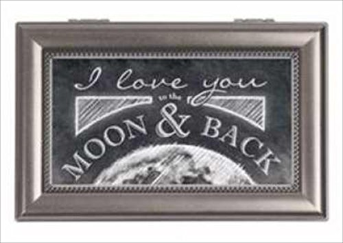 Carson Home Accents 128003 Music Box Moon /& Back Fascination ANCRD37876