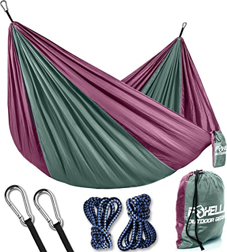 Foxelli Camping Hammock Lightweight Backpacking product image