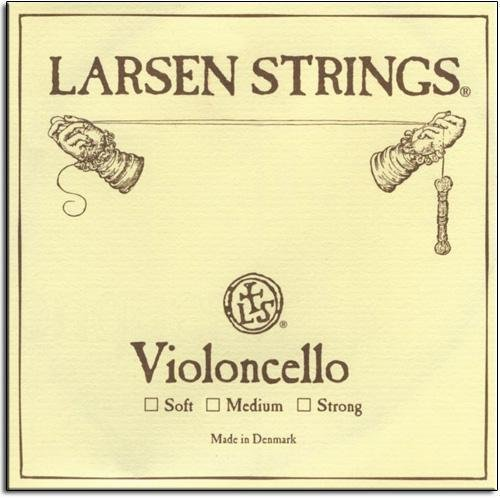 Larsen Soloist Cello A String - Medium Gauge