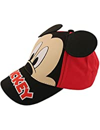 Kids Baseball Cap for Boys Ages 2-7,Mickey Mouse with Dimensional Ears,Little Kids and Toddler Baseball Hat